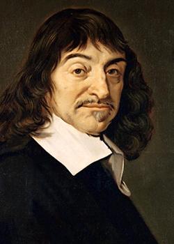 フランスの哲学者デカルト