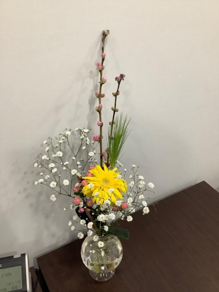 お雛祭りのお花 2