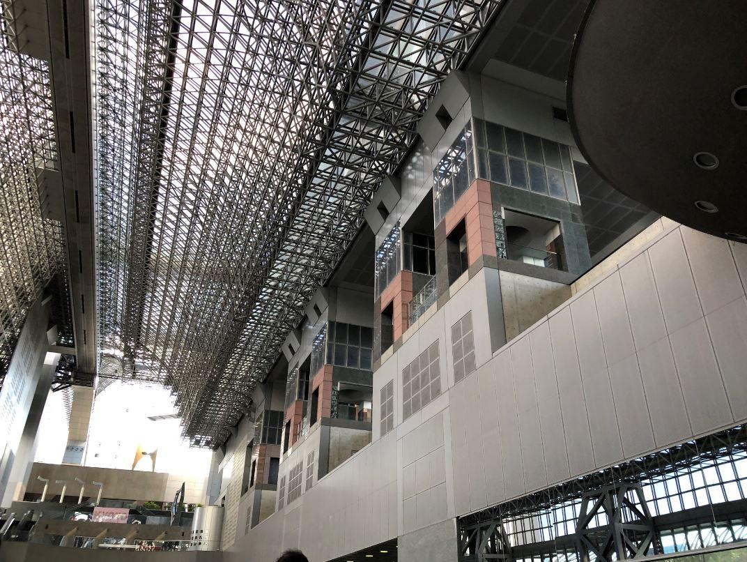 京都駅でコロナあけ3