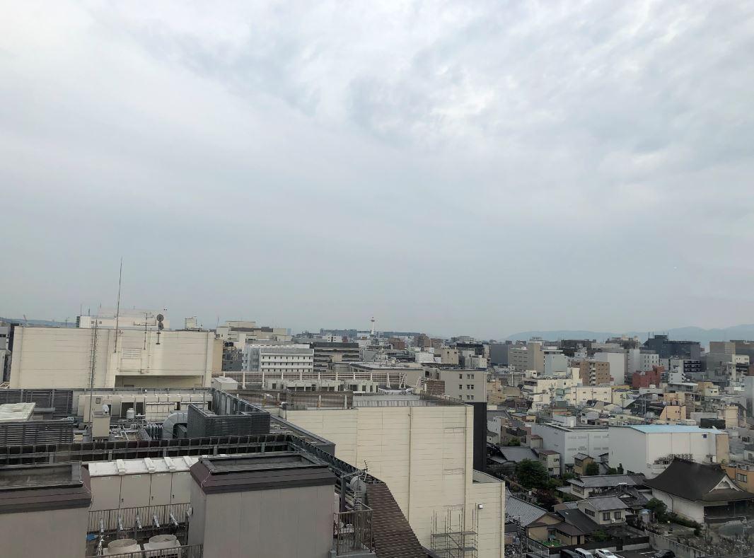 京都駅を望んで