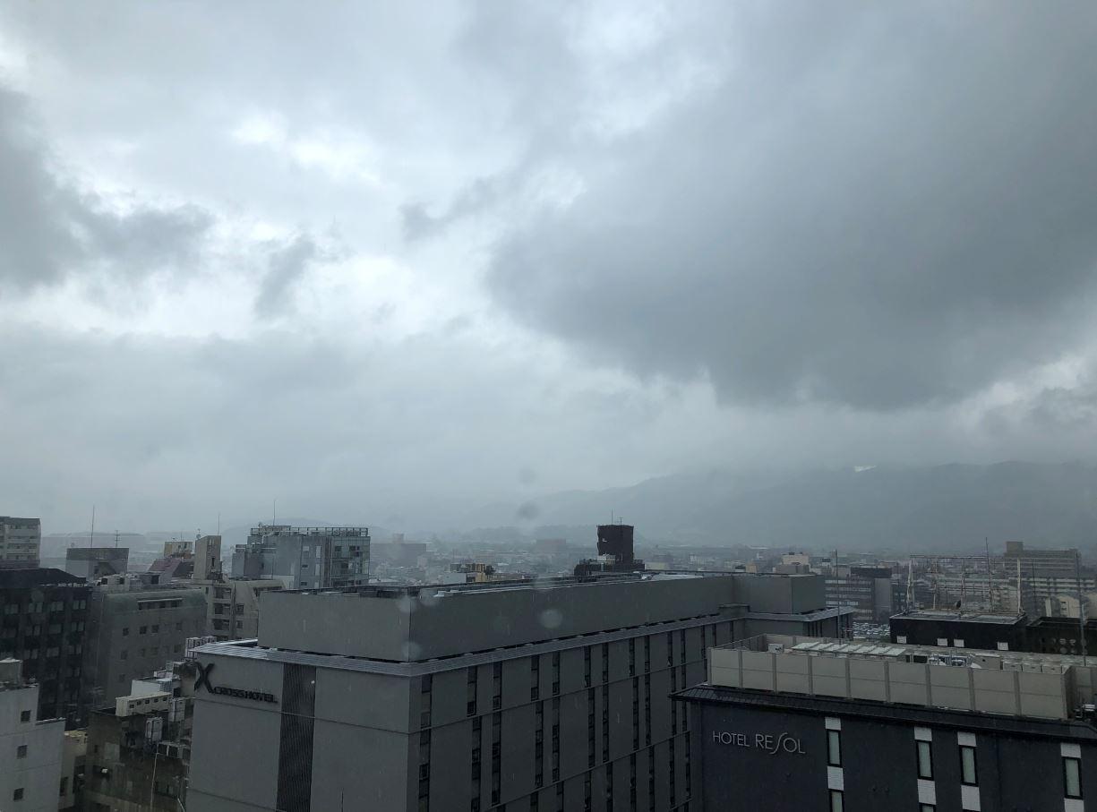 梅雨の比叡山