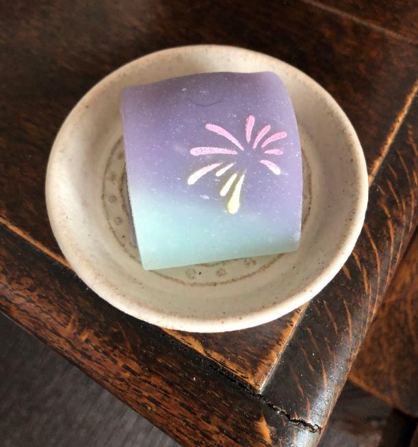 今日の和菓子…夏の夜空に花火