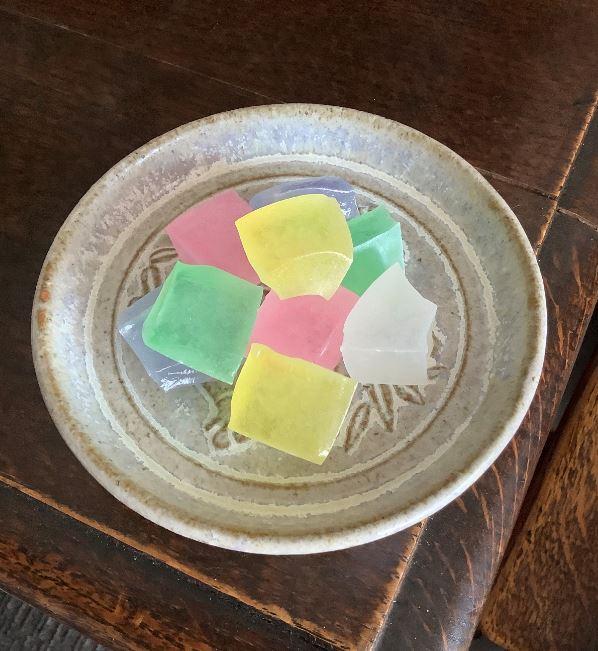 氷を模した京都の夏菓子